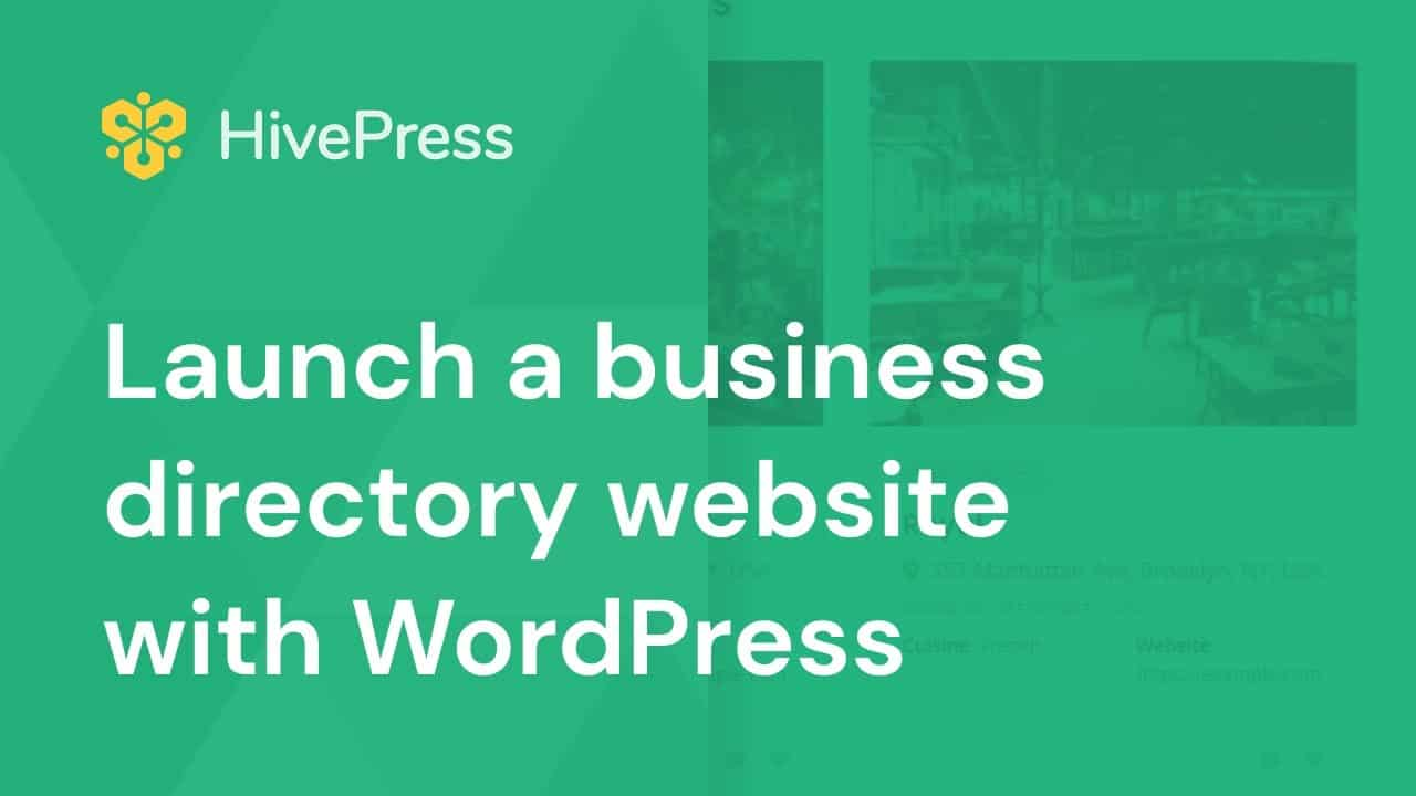 How to Create a Business Directory Website with WordPress for Free [Step-by-step Tutorial]