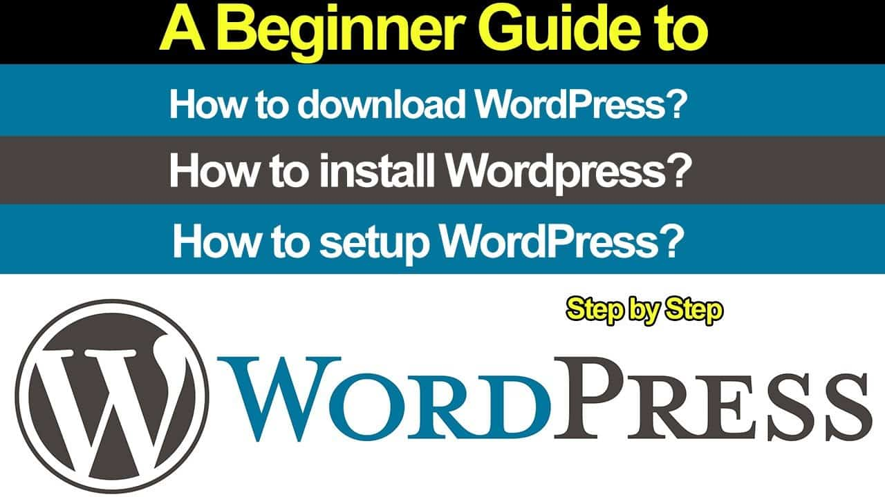 How to download, install and setup WordPress site locally on XAMPP - Step by step Beginner Guide