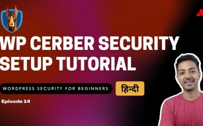 WordPress For Beginners – WordPress Security for Beginners Episode 14 – WP Cerber Security Setup Tutorial  (HINDI)