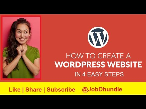 WordPress Tutorial For beginners - Build Website In 4 Steps - No Coding Required - Powerful Tool