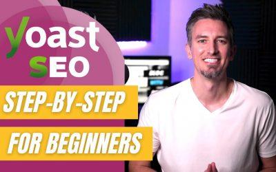 WordPress For Beginners – Yoast SEO Tutorial 2021 – Step-by-Step for Beginners