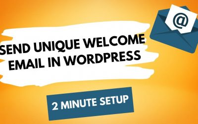 WordPress For Beginners – How to Automatically Send Welcome Emails in WordPress (Step by Step Tutorial)