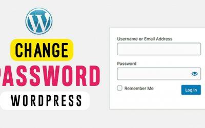 WordPress For Beginners – How to Change Password on WordPress { in Just 2 Minutes }