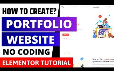 WordPress For Beginners – How to Create Portfolio Website using Elementor 2021? Portfolio Website WordPress Tutorial 2021