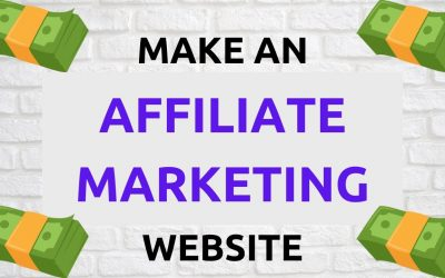 WordPress For Beginners – Make An Affiliate Marketing Website 2021 With WordPress   Step-by-Step Tutorial