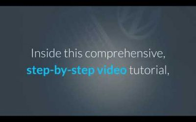 WordPress For Beginners – Step-by-Step WordPress Training Tutorial – Part 1