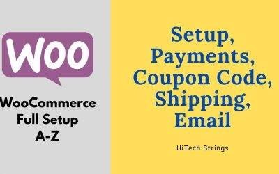 WordPress For Beginners – The Complate WooCommerce Tutorial For WordPress   eCommerce Tutorial